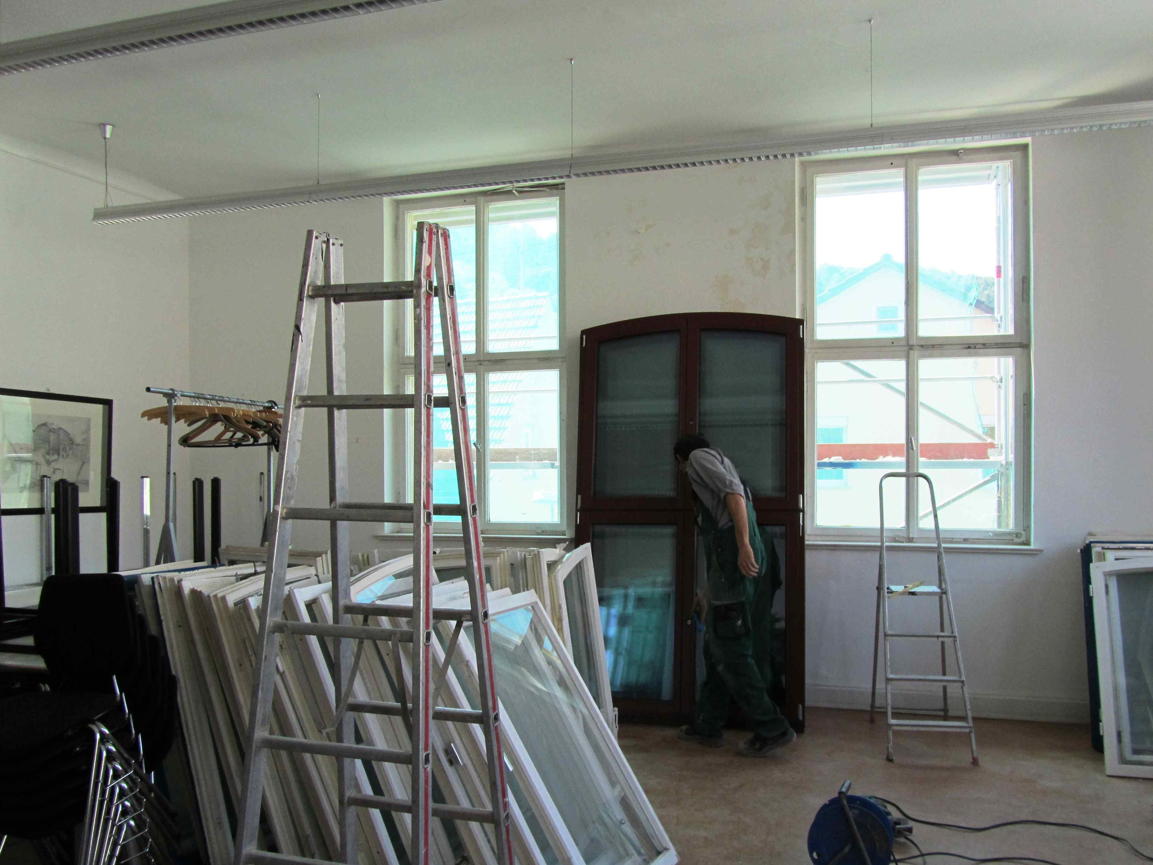 Renovierung des Schulhauses