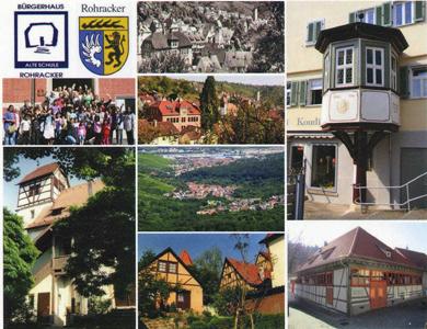 Postkarte Rohracker